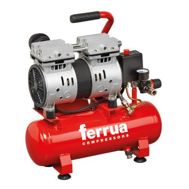 Compressore FERRUA SILTEK 6 LITRI , 1 hp, 8 bar, 6 L