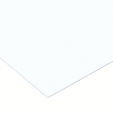 Vetro sintetico polistirene trasparente 50 cm x 150 cm, Sp 2.5 mm