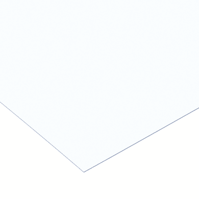 Vetro sintetico polistirene trasparente 50 cm x 50 cm, Sp 2.5 mm