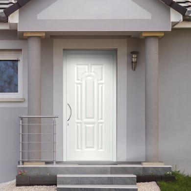 Portoncino d'ingresso Classic1 bianco L 90 x H 210 cm destra