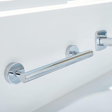 Supporto per entrata vasca Draad in metallo cromato L 31.7 cm