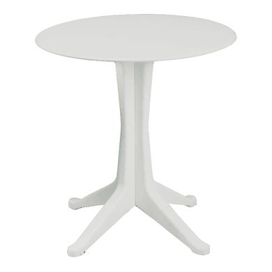 Tavolo da giardino rotondo Levante con piano in polipropilene Ø 70 cm