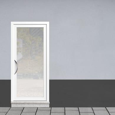 Portoncino d'ingresso Condo1 bianco L 90 x H 210 cm destra