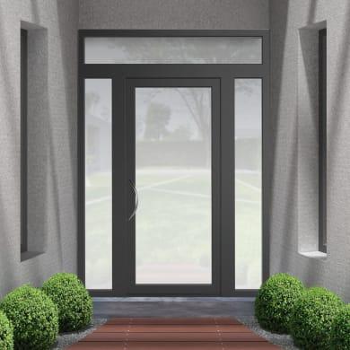 Portoncino d'ingresso Condo23 grigio L 170 x H 250 cm destra