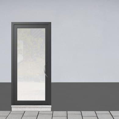 Portoncino d'ingresso Condo3 grigio L 90 x H 210 cm sinistra