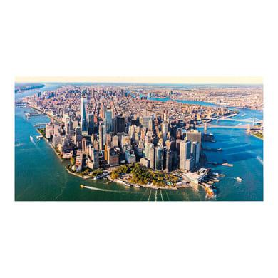 Quadro su tela Vista su Manhattan 140x70 cm