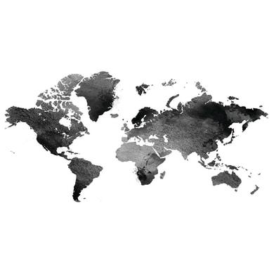Quadro su tela Mappa 140x70 cm