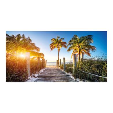 Quadro su tela Sentiero caraibico 140x70 cm