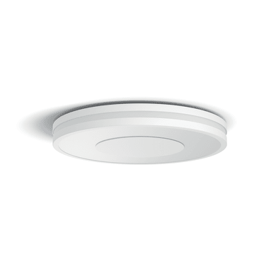 Plafoniera Being LED integrato bianco, in metallo,  D. 34.8 cm 34.8x34.8 cm, PHILIPS HUE