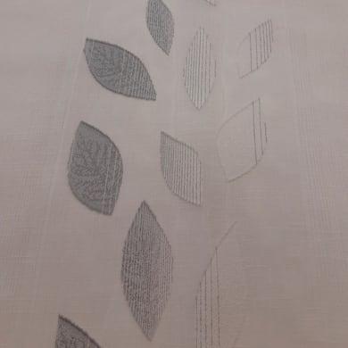 Tessuto Tendaggio Riga Foglia grigio 320 cm