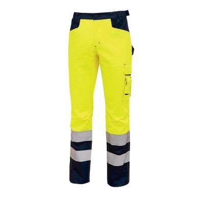 Pantaloni ad alta visibilità U-POWER Light giallo fluo tg S