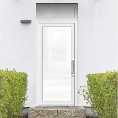Portoncino d'ingresso Condo13 bianco L 90 x H 250 cm sinistra