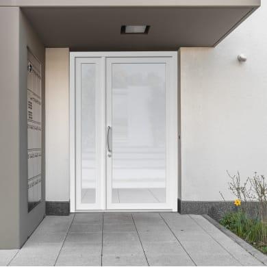 Portoncino d'ingresso Condo5 bianco L 132 x H 210 cm destra
