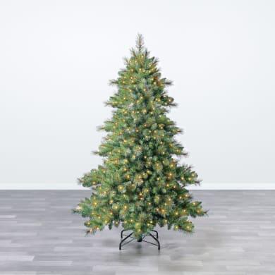 Alberi Di Natale Decorati Foto.Albero Di Natale Vero O Artificiale Leroy Merlin