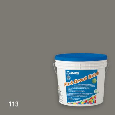 Colla in pasta Fix & Grout 113 MAPEI grigio
