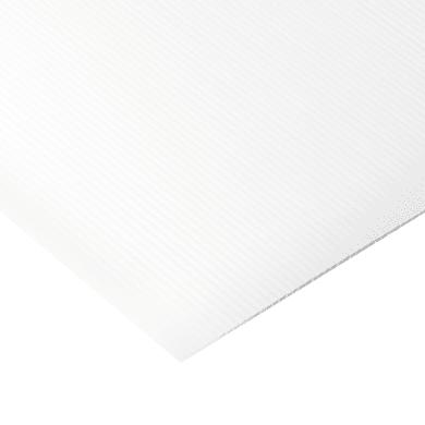 Lastra polipropilene bianco 100 cm x 200 cm, Sp 10 mm
