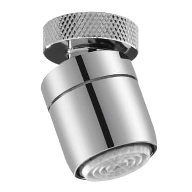 Aeratore EQUATION per rubinetto per bidet grigio