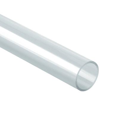 Barra tonda in pmma trasparente 40 x 1000 mm, Ø 40 mm