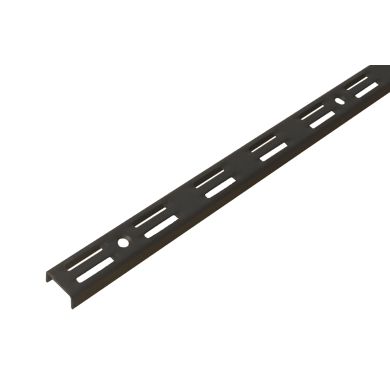 Cremagliera doppia H 50 x L 0.25 cm, Sp 1.5 mm nero