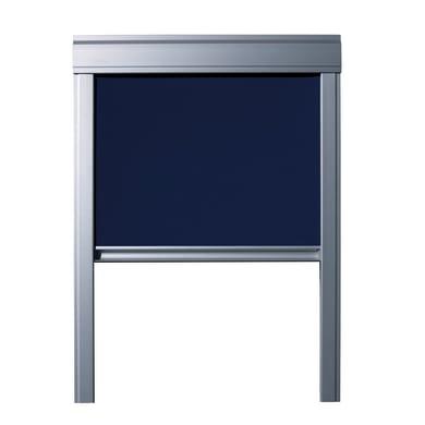 Tenda avvolgibile L 55 x H 78 cm blu