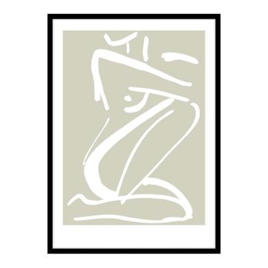 Stampa incorniciata Sketch No 40.7x50.7 cm