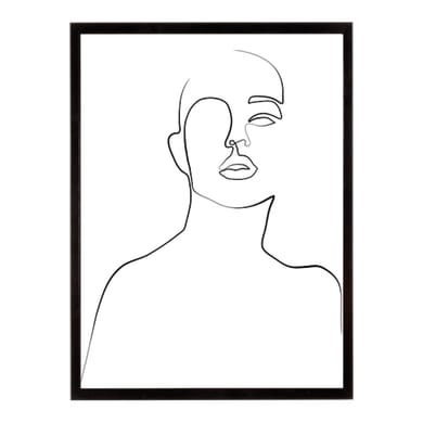 Stampa incorniciata Linear Dream-Regard 40.7x50.7 cm