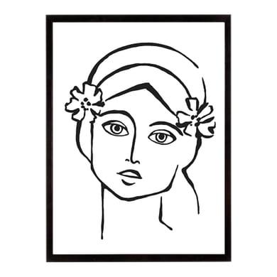 Stampa incorniciata Bohemian Portrayal 40.7x50.7 cm