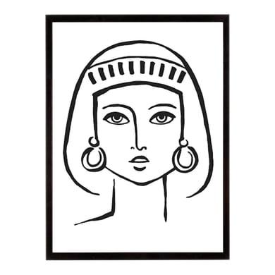 Stampa incorniciata Romanesque Portrayal 40.7x50.7 cm