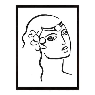 Stampa incorniciata Whimsical Portrayal 40.7x50.7 cm