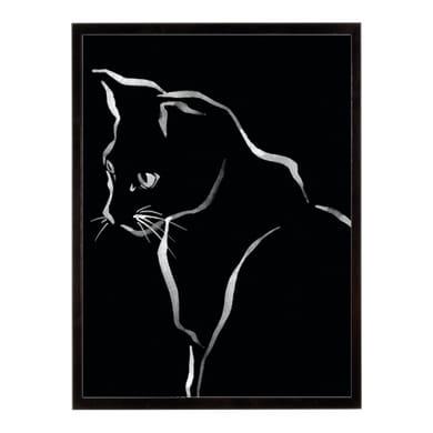 Stampa incorniciata Feline Friends-Glance 40.7x50.7 cm
