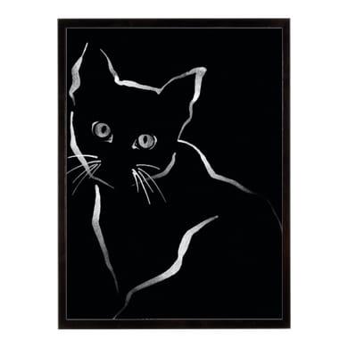 Stampa incorniciata Feline Friends-Gaze 40.7x50.7 cm