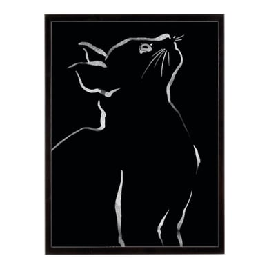 Stampa incorniciata Feline Friends-Look 40.7x50.7 cm