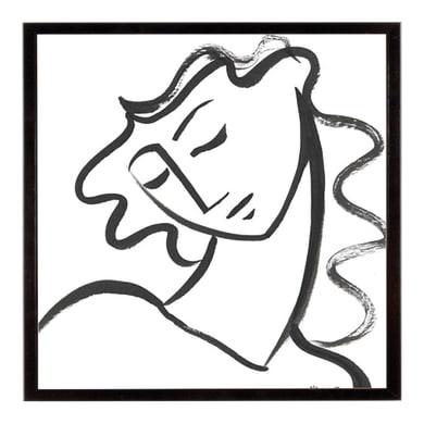 Stampa incorniciata Linear Contemplation 40.7x50.7 cm