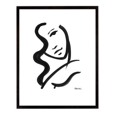 Stampa incorniciata She can 40.7x50.7 cm