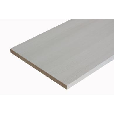 Ripiano melaminico ARTENS 100 x 30 cm Sp 18 mm , olmo bianco