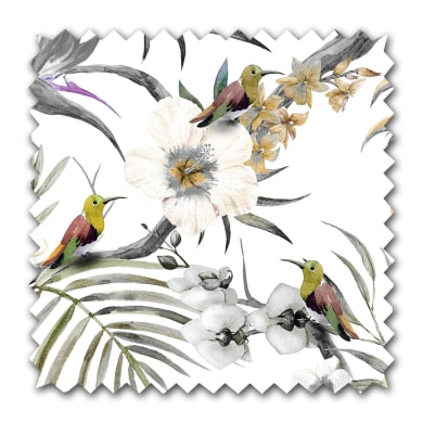 Tessuto Colibri tortora 300 cm