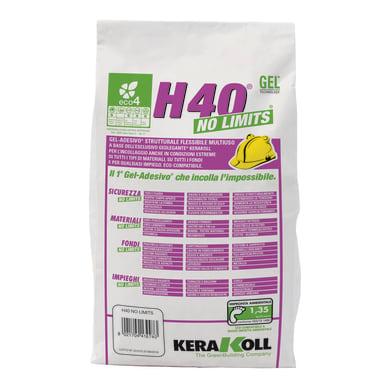 Colla in gel H40 No Limits KERAKOLL 2 kg bianco