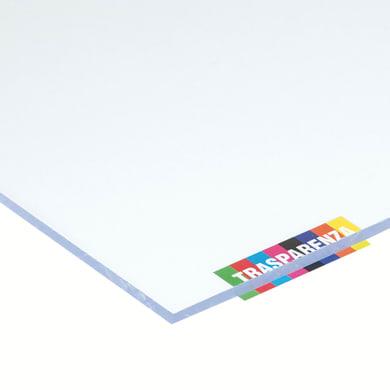 Vetro sintetico polistirene trasparente 50 cm x 50 cm, Sp 5 mm