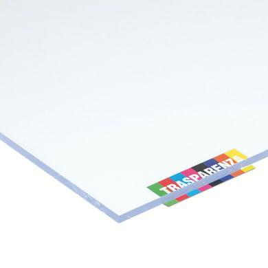 Vetro sintetico polistirene trasparente 50 cm x 150 cm, Sp 5 mm