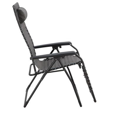 Poltrona da giardino con cuscino  in acciaio Relax Chair colore grigio