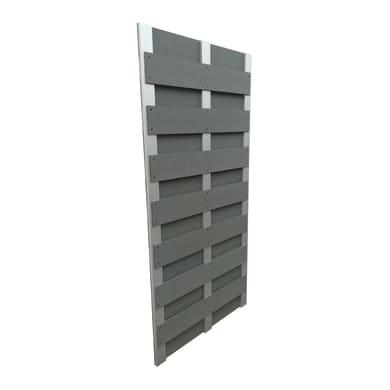 Pannello componibile frangivista composite grigio x H 180 cm