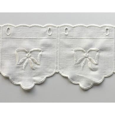 Tessuto al taglio Tirolese bianco 0.01 cm