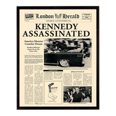 Stampa incorniciata Kennedy ass. 40.7x50.7 cm
