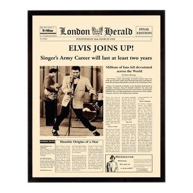 Stampa incorniciata Elvis joins up 40.7x50.7 cm