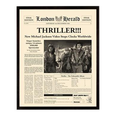 Stampa incorniciata Thriller 40.7x50.7 cm