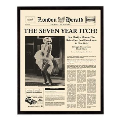 Stampa incorniciata The seven year itch 40.7x50.7 cm