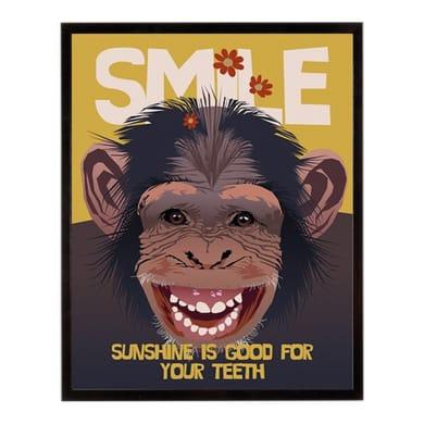 Stampa incorniciata Smile iii 40.7x50.7 cm
