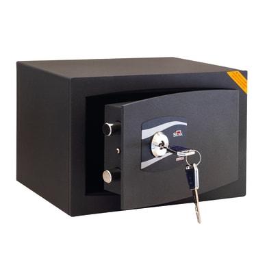 Cassaforte a chiave STARK 649KN da mobile con fissaggio L31 x P20 x H20 cm