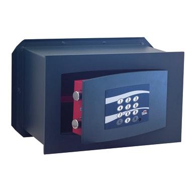 Cassaforte con codice elettronico STARK 851PA fissaggio a pavimento L 31 x P 19.5 x H 21 cm
