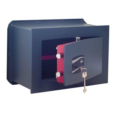 Cassaforte a chiave STARK 803A da murare L40 x P19.5 x H25 cm